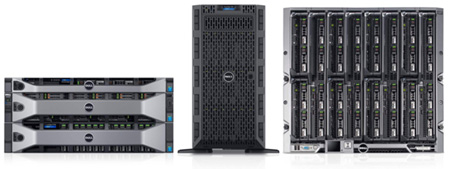 Dell PowerEdge 13th generation servers
